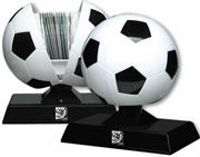 Esquire Official FIFA 2010 Licensed Product CD / DVD Soccer Ball HOLDER : Holds 60 CD's or DVD's-Purchase as a mémoire of the 2010 Soccer World Cup in South Africa!, Retail Packaged ,