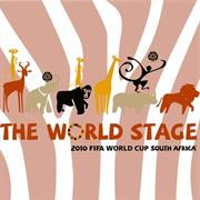 Esquire Official FIFA 2010 Licensed Product-AFRICA ANIMAL2 Mouse Pad-Purchase as a mémoire of the 2010 Soccer World Cup in South Africa! , Retail Box , No warranty