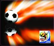 Esquire Official FIFA 2010 Licensed Product-SOCCER and FIRE Mouse Pad-Purchase as a mémoire of the 2010 Soccer World Cup in South Africa! , Retail Box , No warranty