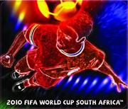 Esquire Official FIFA 2010 Licensed Product-PLAYER and FIRE Mouse Pad-Purchase as a mémoire of the 2010 Soccer World Cup in South Africa! , Retail Box , No warranty