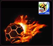 Esquire Official FIFA 2010 Licensed Product-BALL-on-FIRE Mouse Pad-Purchase as a mémoire of the 2010 Soccer World Cup in South Africa! , Retail Box , No warranty