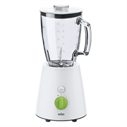 Braun JB3060WH Tribute Jug Blender 800w Colour White – Unique triangular jug for efficient blending circulation. Creates both a horizontal and vertical flow, which increases efficiency and delivers best blending results. Turbo function provides short bursts of maximum power to ensure even finer results and more control for recipes. Thermo resist glass with no blending limits, Easily blend sauces, hot soups or even icy drinks and more. Retail Box 1 year warranty