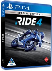 PlayStation 4 Game Ride 4 Special Edition, Retail Box, No Warranty on Software