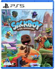 PlayStation 5 Game – SACKBOY A BIG ADVENTURE, Retail Box, No Warranty on Software