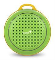Genius SP-906BT R2 Plus Portable Bluetooth – Green, Retail Box , 1 year Limited Warranty