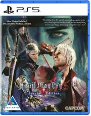 PlayStation 5 Game – DEVIL MAY CRY SPECIAL EDITION, Retail Box, No Warranty on Software