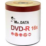 Mr Data 16X DVD-R 50Pack Printable DVD's, Retail Box , No Warranty