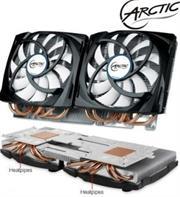 Arctic Accelero Twin Turbo 690 VGA Cooling Unit GTX690 SLI, Retail Box , 1 Year warranty