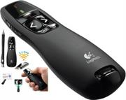 Logitech R400 Presenter – (Red Laser Pointer,15 Meter range, USB receiver), Retail Box , 1 year Limit warranty