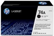 HP Original Replacement for HP 74A HP 92274A Black Laser Toner Cartridge – Page Yield:3350 pages with 5% coverage, for use with HP LaserJet 4L, HP LaserJet 4ML, HP LaserJet 4MP, HP LaserJet 4P, Retail Box , No Warranty