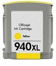 InkPower Generic Replacement Ink Cartridge for HP 940XL C4909A – Page Yield +- 1400 pages with 5% Coverage for HP OfficeJet Pro 8000 / 8500 /8500A – High Yield Yellow, Retail Box