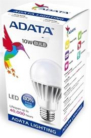 ADATA 10W LED Light bulb, Luminous flux- 810 Lm, Cool White , Retail Box , 1 year Limited Warranty