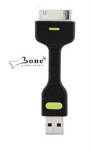 Bone Collection Link II USB Adapter for Apple iPod, iPhone & iPad-Charge and sync your iPod, iPhone or iPad with your Mac or Windows PC-Black, Retail Box , 1 year Limited Warranty