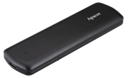 Apacer AS721 1TB External SSD Type-C USB Black(Aluminium) : USB 3.2 Gen 2 SATA / USB-C and backward compatible with USB 2.0; System Supported Windows 10/8.1/8/7, Mac OS 10.6.X or above, Linux Kernel 2.6.X or above; Shock Proof(Shock 1500G/0.5 msec); MTBF 2,000,000 hours., Retail Box, Limited 3 Year Warranty