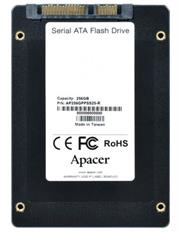 Apacer 256GB NAS SSD Drive; Interface-SATA III, NAND flash 3D TLC; Continuous Read Speed (MB/s) 550, Continuous Write Speed (MB/s) 490, 4K Random R/W Speed (IOPS) 84,000; Random Write IOPS (4K) 86,000, Retail Box, 5 year warranty