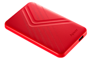 Apacer AC236 1TB USB 3.1 External Hard Drive – Red, Retail Box, Limited 2 Year Warranty