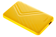 Apacer AC236 1TB USB 3.1 External Hard Drive – Yellow, Retail Box, Limited 2 Year Warranty