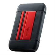 Apacer AC633 2TB USB 3.1 External Hard Drive – Red , Retail Box, Limited 3 Year Warranty