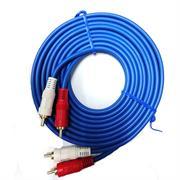Geeko 3m Audio 2 X Rca Male Cable, Retail Box, Limited Lifetime Warranty