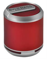 Divoom Bluetune Solo Portable Bluetooth Speakers Built-in Rechargeable Li-ion battery + Built-in microphone for hands-free calls- 4W,Colour: Red, Retail Box , 6 Month Warranty
