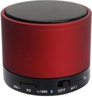 Geeko Mini Rechargeable Bluetooth Version V2.1 Speaker with Microphone -built-in 520mAh lithium battery, Operating Range up to 10m, Total Power 3W, Mini-USB port , MicroSD card slot – Orange, Retail Box , 1 year Limited Warranty