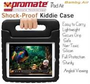 Promate Bamby.Air Shockproof Impact resistant case with convertible stand Colour:Black, Retail Box , 1 Year Warranty