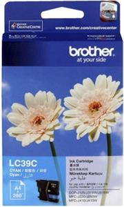 Brother Cyan Cartridge For use with MFC-J220 / DCP-J125, Retail Box , No Warranty