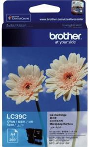 Brother DCPJ125 and MFCJ220 Yellow Cartridge, Retail Box , No Warranty