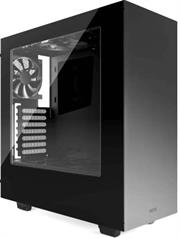 NZXT S340 ATX Midi Tower Case – SECC Steel Frame Construction with ABS Plastic and Side Window Panel , 3 x 3.5″ Drive Bays ,2 x 2.5″ Drive Bays , 7 x Expansion Slots , Front I/O Panel: 2x USB 3.0 Ports, 1x Audio/Mic , 1x 120mm FN V2 Fan included , Support for Liquid Cooling Systems , Support for GPUs Length: 334mm (w/ Radiator), 364mm (w/o Radiator) , support for CPU Coolers with 161mm Height , Dimensions: 200.0 x 445.0 x 432.0 mm , No Power Supply Unit – Matte Black, Retail Box , 1 Year warranty
