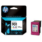 HP No 901 Tri-Colour Officejet Cartridge – For use with HP Officejet J4500 All-in-One series, HP Officejet 4500 All-in-One series, HP Officejet J4680 All-in-One, Retail Box , No Warranty
