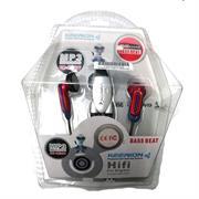 Geeko In-Ear Earphones With Volume Control, OEM, 1 year Limited Warranty