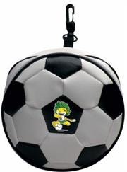 Esquire Official FIFA 2010 Licensed Product CD Wallet ZAKUMI Running Pose:Holds 24 CD or DVD with Zipper and Hook-Purchase as a mémoire of the 2010 Soccer World Cup in South Africa!, Retail Packaged ,