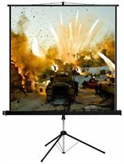 Esquire Tripod Projector Screen – Widescreen format 200x 113, Retail Box , 1 year Limited Warranty