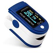Casey Digital Fingertip Pulse Oximeter Colour: Blue – Non-Invasive Device , Measures SPO2 (Blood Oxygen Saturation Levels) and Pulse Rate In 10 Seconds, LED Display, Automatically Shut Down 8 Seconds Retail Box No Warranty
