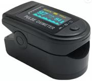 Casey Digital Fingertip Pulse Oximeter Colour: Black – Non-Invasive Device , Measures SPO2 (Blood Oxygen Saturation Levels) and Pulse Rate In 10 Seconds, LED Display, Automatically Shut Down 8 Seconds Retail Box No Warranty