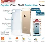 Promate Crystal -Clear Shell Protective Case For iPhone 5/5s, Retail Box , 1 Year Warranty