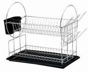Casa Catania 2 Tier Chrome Dish Rack Retail Box Out of Box Failure Warranty