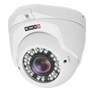 Provision ISR 1080P 4in1 Dome, 20m IR (2 LED Array), 1080P AHD or 960H Analogue, 1/3″ 2MP Sensor, 2.8mm Mega-Pixel Fixed Lens, Retail Box , 1 year warranty