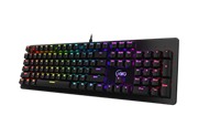 KWG Draco M1 Mechanical RGB Light Keyboard – RGB Backlighting Built-in lighting effects, KWG Certified Mechanical Switches, Windows Key lock on/off indicator, WASD–Arrow Key Exchange Mode, Rubber Feet Design Anti-slip design to ensure your keyboard to stand steadily, Anti-ghosting with N-key rollover, Retail Box, 1 year warranty