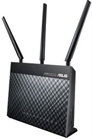 Asus DSL-AC68U Dual-Band Wireless AC1900 VDSL/ADSL2+ Gigabit Modem Router, Retail Box , 2 year Limited Warranty