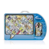 Disney Mickey Mouse & Mouse Pad Gift Set , Retail Packaged ,