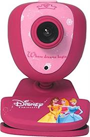 Disney Princess USB Web Camera with Microphone- USB 1.3 megapixel CMOS sensor Webcam with MPX, Support USB 2.0 and USB 1.1, Compatible with Skype , Google Talk , Zoom , Yahoo Messenger and others , Plug and Play with Windows 10 , Retail Packaged