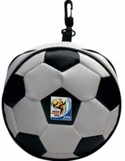 Esquire Official FIFA 2010 Licensed Product CD Wallet FIFA Emblem Holds 24 CD or DVD with Zipper and Hook Purchase as a mémoire of the 2010 Soccer World Cup in South Africa!, Retail Packaged ,
