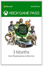 Xbox Game Pass 3 Months, Digital Code, No Warranty on Vouchers