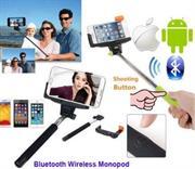 Geeko Z07-5 Monopod Selfie Stick for Mobile Phone – Pink, Retail Box , 1 Year Limited Warranty
