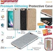 Promate Glare-i6 Premium Glittering Protective Case Colour:Gold, Retail Box , 1 Year Warranty