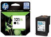 HP 121xl Black Inkjet Cartridge – for use with HP Deskjet D1663, HP Deskjet D2563, HP Deskjet D2663, HP Deskjet D5563, HP Deskjet F2423, HP Deskjet F2483, HP Deskjet F2493, HP Deskjet F4213, HP Deskjet F4275, HP Deskjet F4283, HP Deskjet F4583, HP Envy 110, HP Photosmart C4683, HP Photosmart C4783, Retail Box , No Warranty