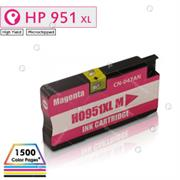 InkPower Generic HP 951XL for use with HP Officejet Pro 251, 276, 8100, 8600, 8610, 8615, 8620, 8625, 8630 Magenta Ink Cartridge, Retail Box , No Warranty