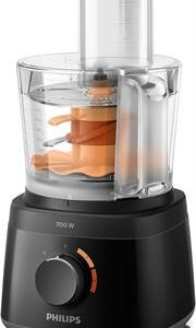 Philips Daily Collection Food Processor Colour Black 700W Retail Box 2 year warranty
