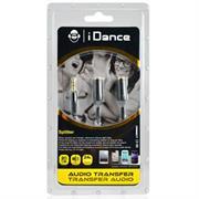 iDance Connect-C2 3.5mm 1-2 Splitter – Black, Retail Box , 1 year Limited Warranty